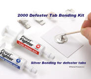 Frost Fighter Rear Window Defroster Conductive Tab Adhesive
