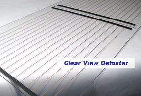 Clear View Aftermarket Defrosters And Defoggers