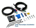 Defroster, defogger wire harness and installation pack