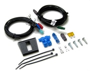 Defroster installation kit and wire harness