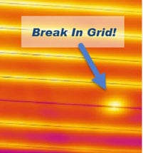 Defroster Grid Repair