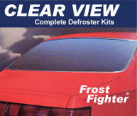 Clear View II Defrosters in 12 and 24 volt - frost fighter