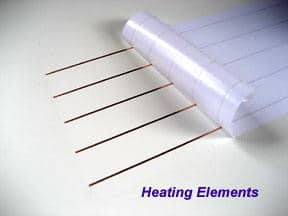 Defroster Heating Elements On Roll