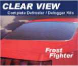 Clear View defrosters in 12 and 24 volt