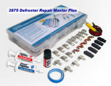 Defroster repair kits include tabs and connectors