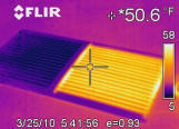 Clear View rear defrosters infrared image