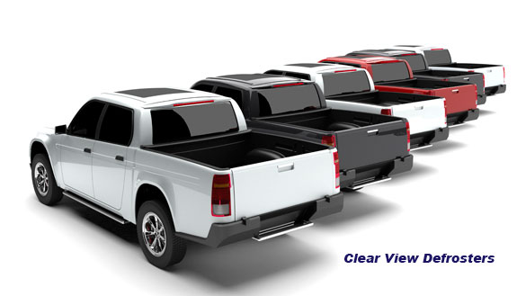 Pickup Truck Rear Window Defroster Clear View