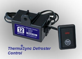 ThermaSync defroster relay control